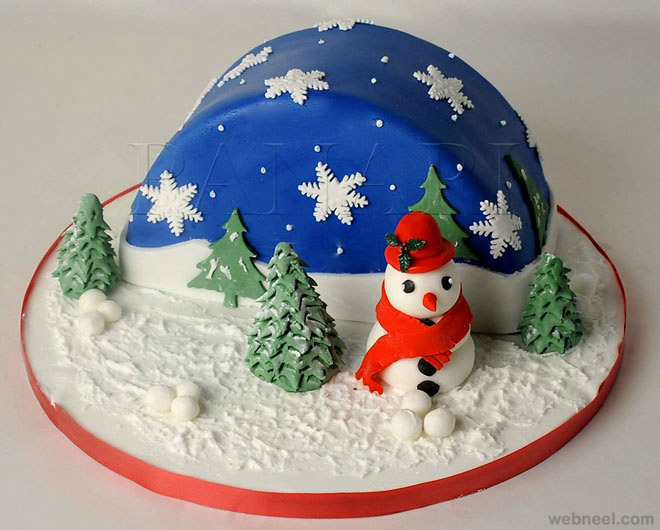 Christmas Cake Design Pictures : 25 Beautiful Christmas Cake Decoration Ideas and design ...