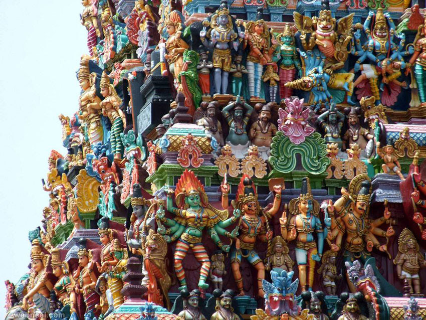 incredible india meenakshi amman temple