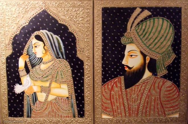 mughal painting akbar