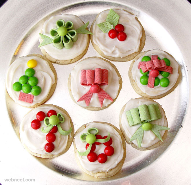 Christmas Cookie Cake Decorating Ideas : simple christmas cookie decorating ideas 3