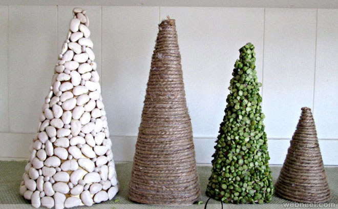 Christmas Tree Ideas Homemade : Beautiful christmas tree diy ideas for your inspiration