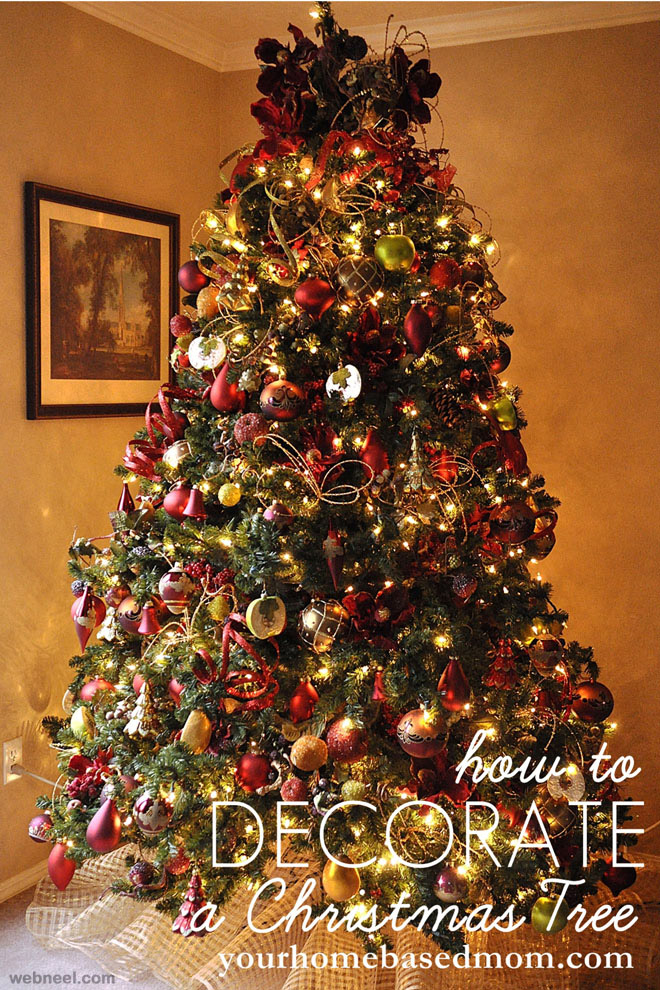 25 beautiful christmas tree decorating ideas for your for Beautiful christmas decorating ideas