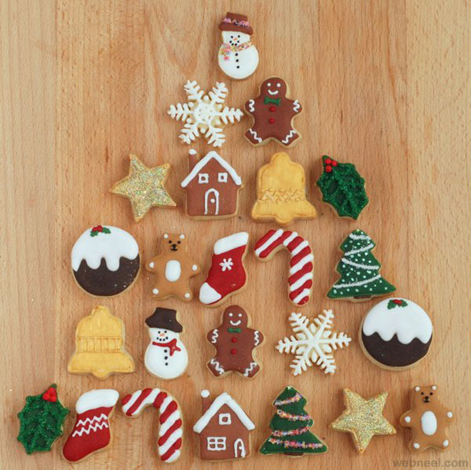 Calendar Typography Examples : Best christmas cookie designs and decoration ideas for you