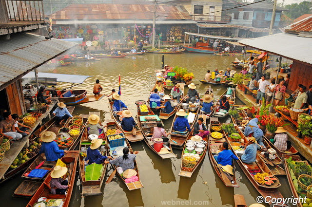 floating markets