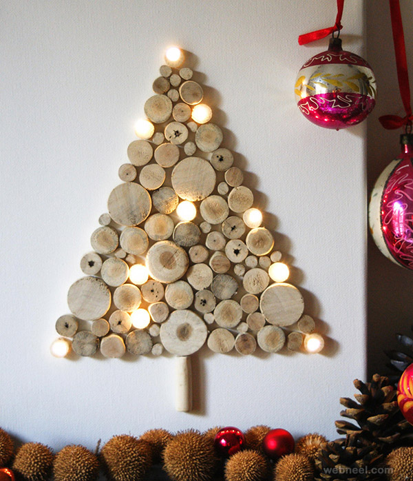 beautiful xmas wall decor