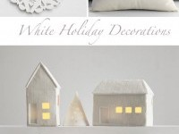 white-holiday-decorations
