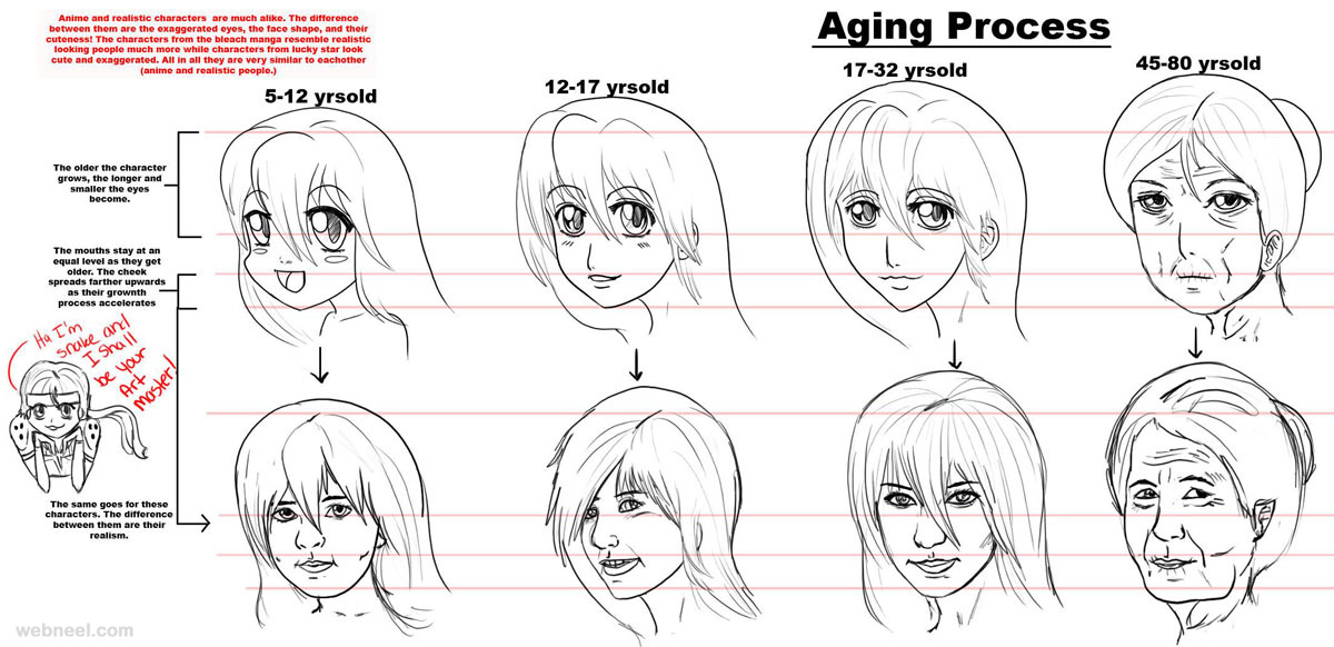 How To Draw Anime Tutorial With Beautiful Anime Character