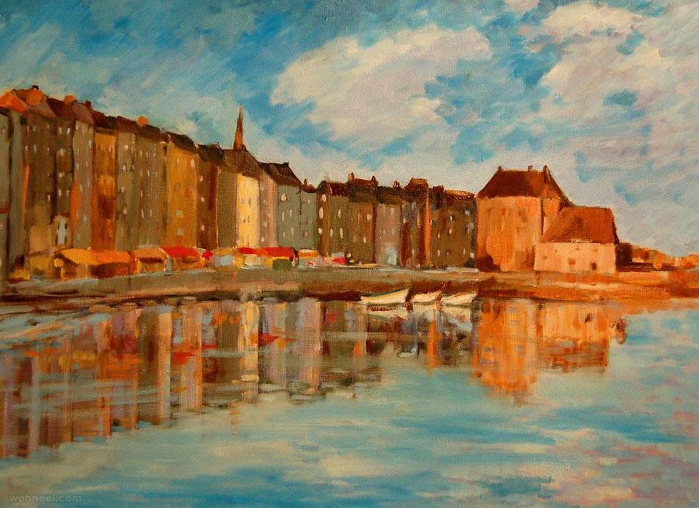 claude monet landscape paintings