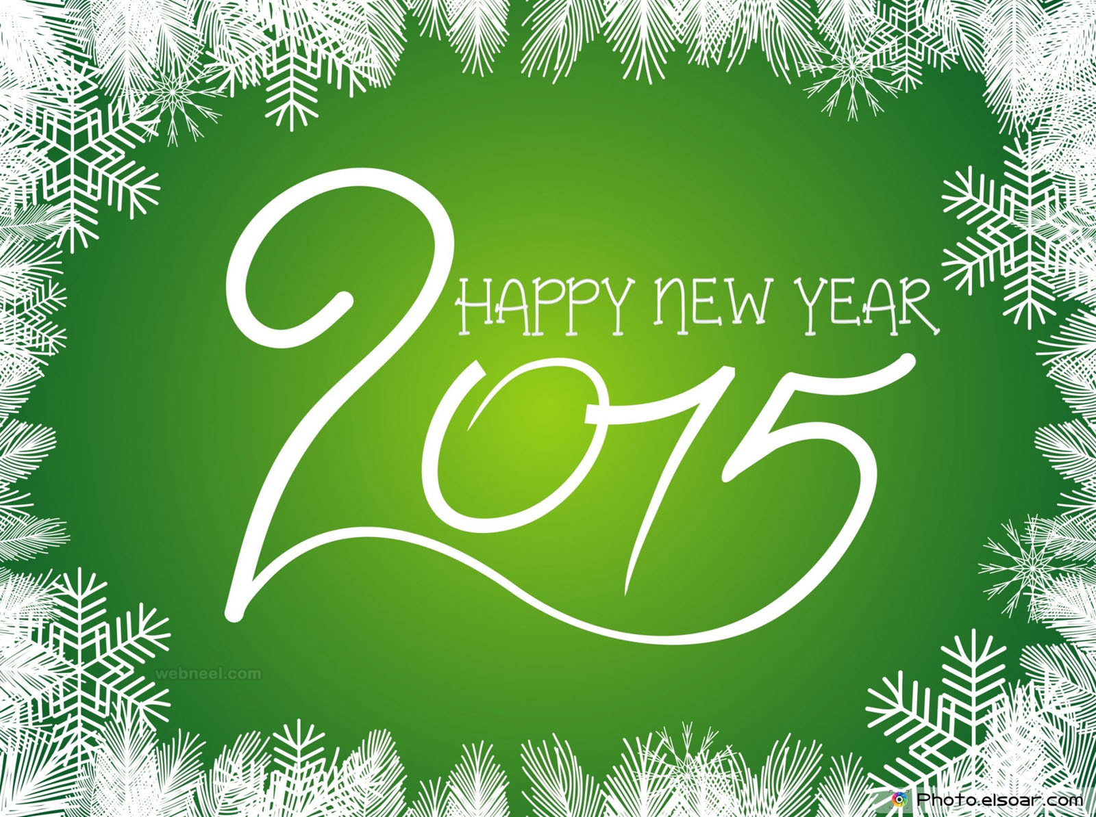 New Year Greeting Card Design 2015 17 - Full Image