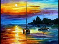 18-sunset-painting-leonid-afremov