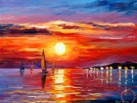 19-sunset-painting-leonid-afremov