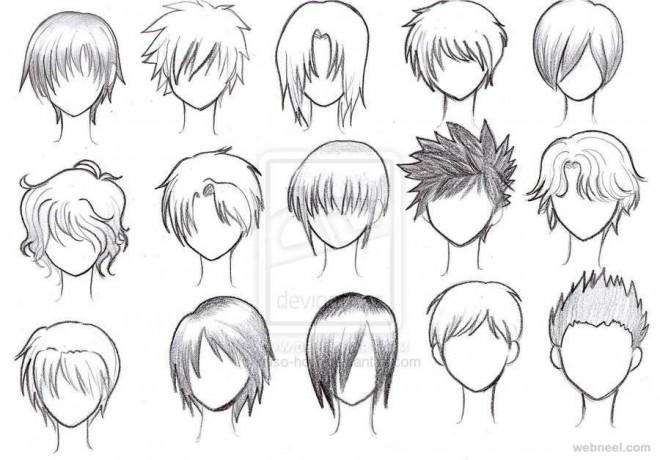 Terrific Anime Hairstyles Female Tutorial Best Hairstyles 2017 Short Hairstyles Gunalazisus