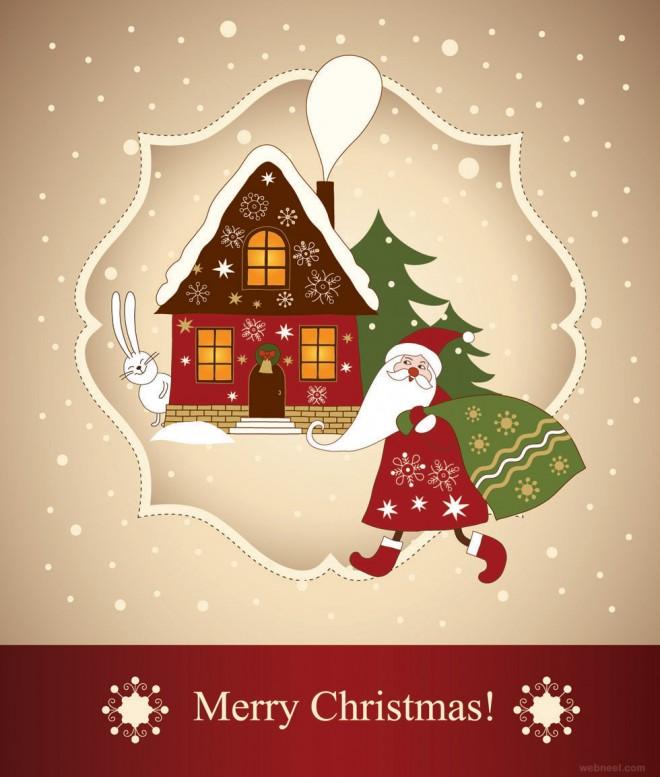 christmas print cards