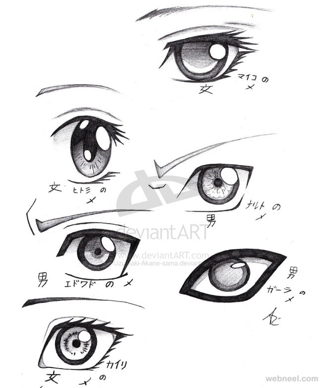 Girl Eyes Drawing Anime Drawing Eyes Draw Anime