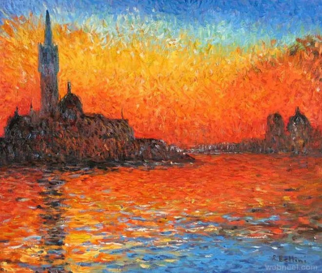 20 famous monet paintings and landscape artworks for Monet paintings images