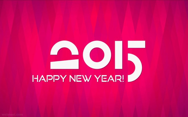 new year greeting 2015