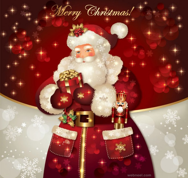 santa claus pictures vector
