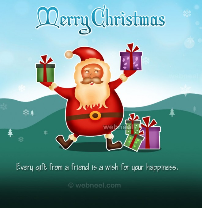 Incredible 50 Best Christmas Greeting Card Designs For Your Inspiration Easy Diy Christmas Decorations Tissureus