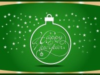 new-year-greeting-card-green-design-