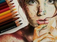woman-color-pencil-drawing-by-Franwingmartinez