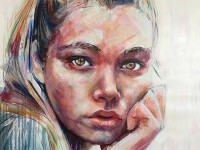 woman-painting-by-davidreesartist