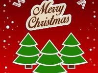 66-tree-christmas-greeting-card-design