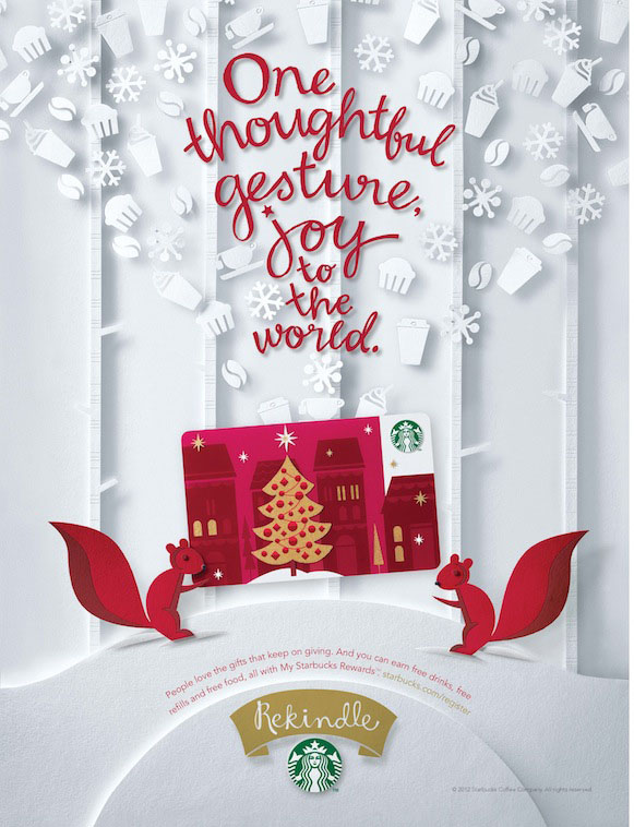 starbucks christmas ads