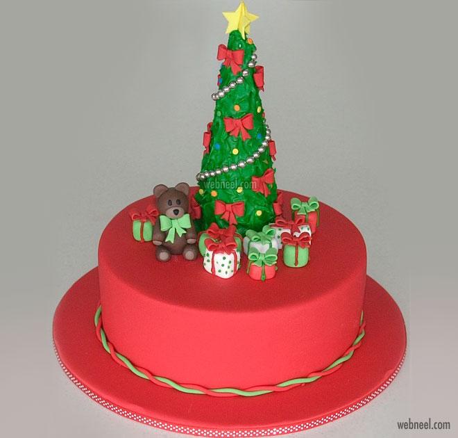 christmas cake decoration ideas