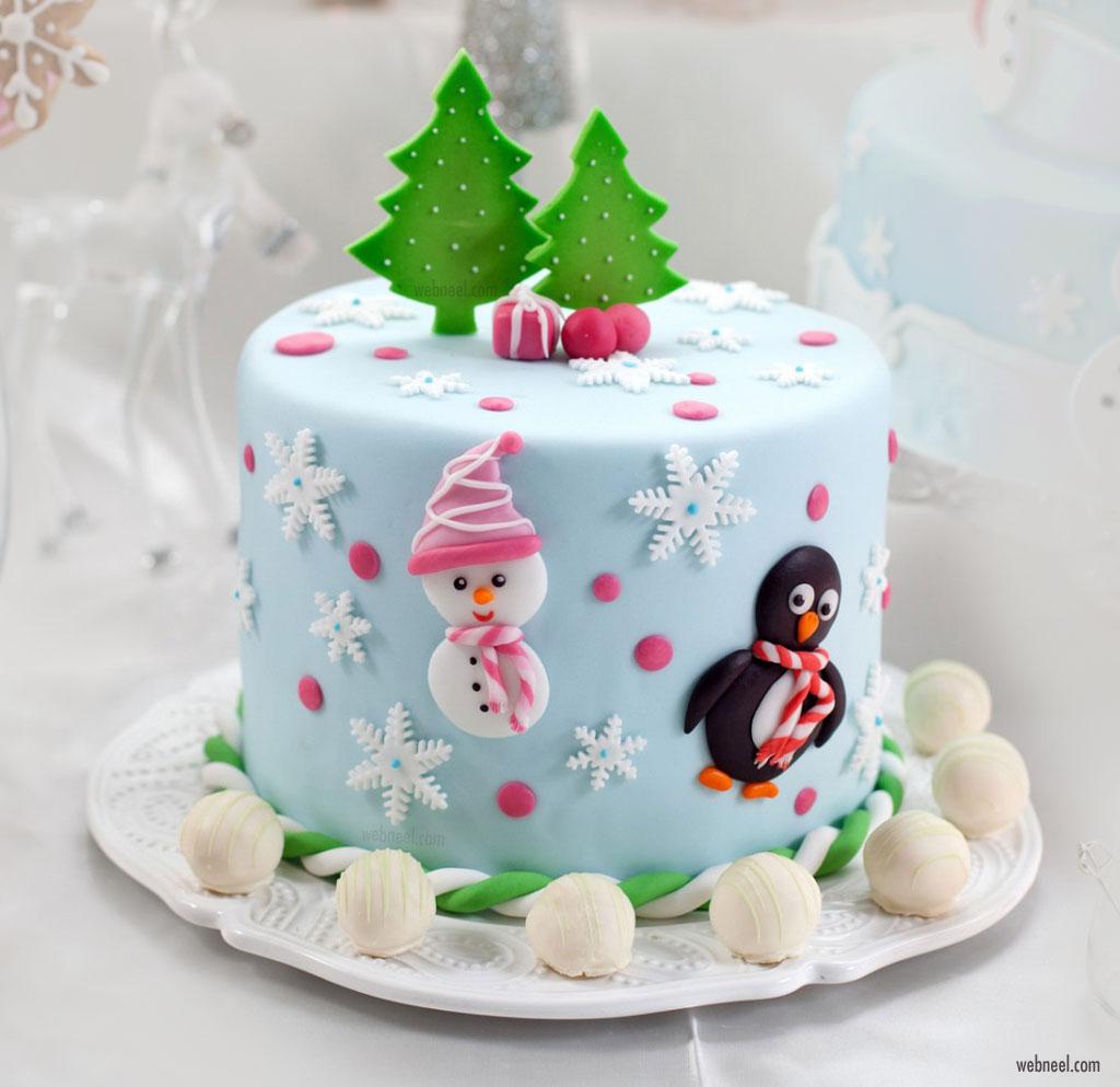christmas cake xmas decoration ideas