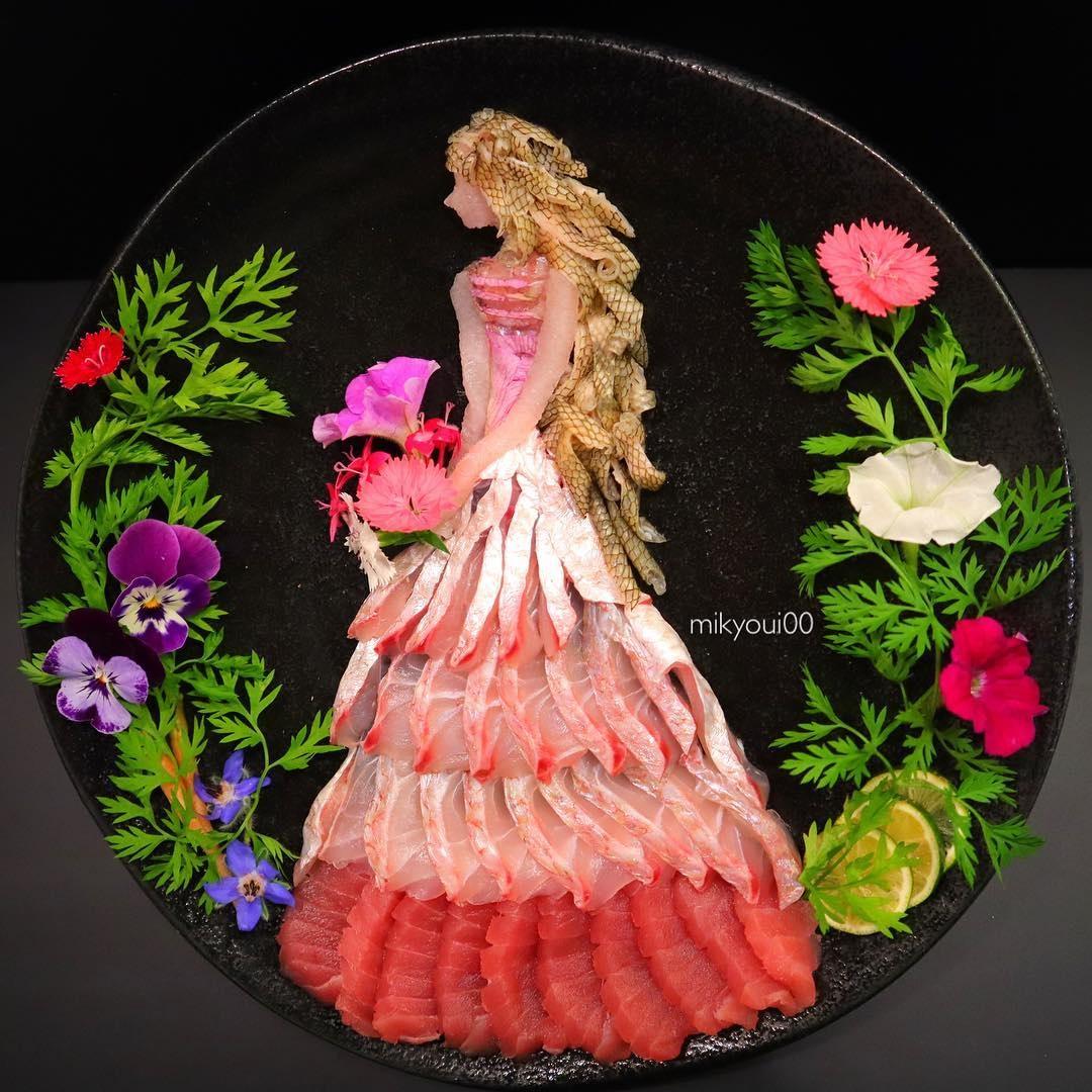 food art idea dance