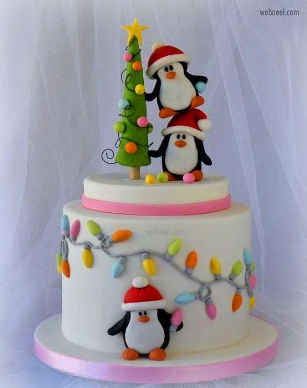 christmas cake easy idea
