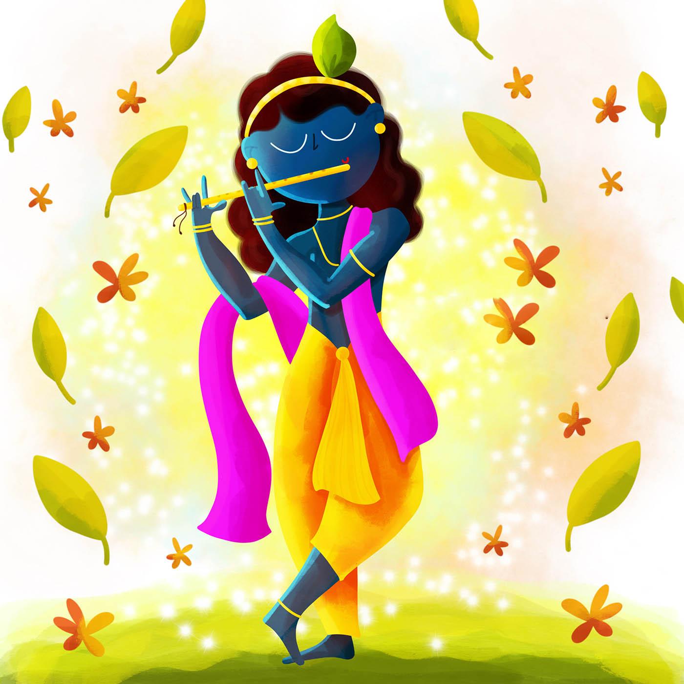 digital art indian goddess