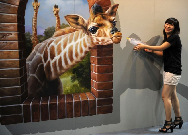 Image  3d painting