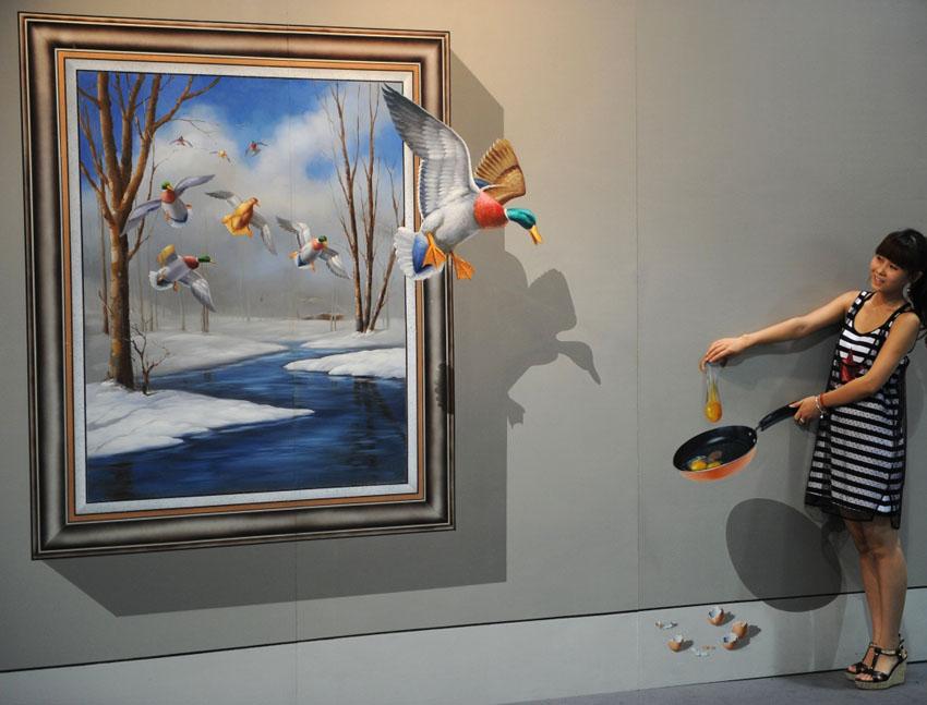 D Exhibition Art : D painting full image