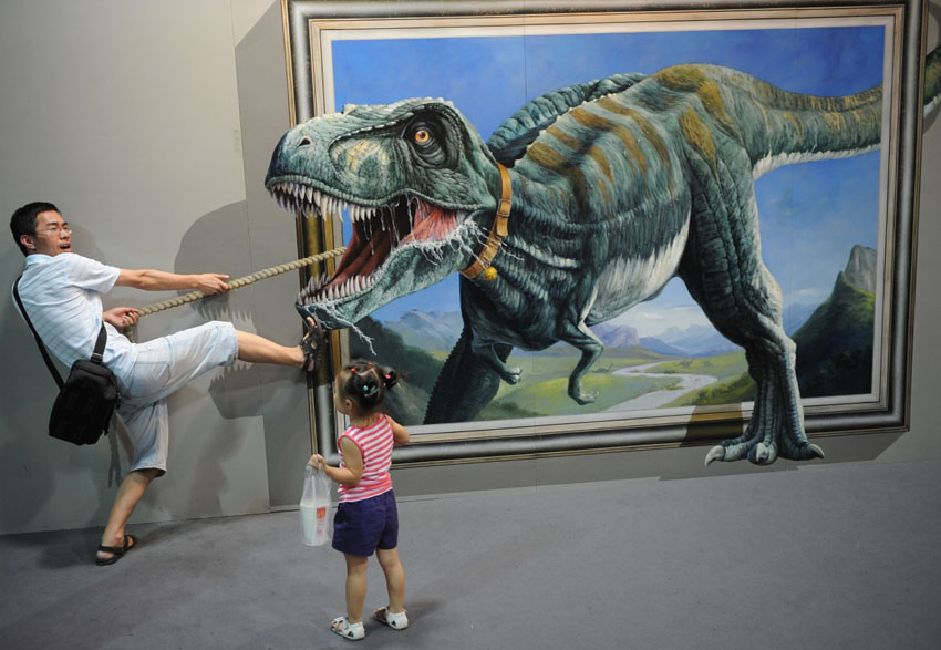 3d interactive paintings 8 8 for 3d mural art