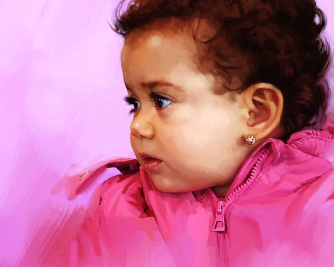 Baby   Digital Painting