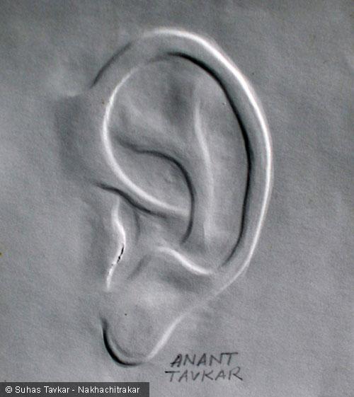 Finger-Nail-Art-Ear by Papa