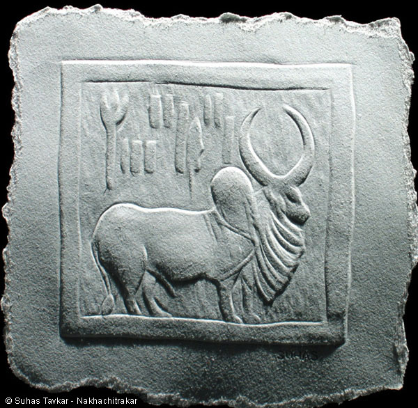 Finger-Nail-Art-Mohenjodaro Seal