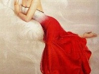 Painting - Rolf Armstrong- Oil painting