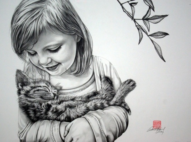 Pencil Drawing 1