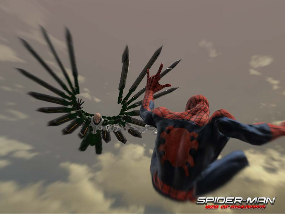 Spiderman web of shadows 2