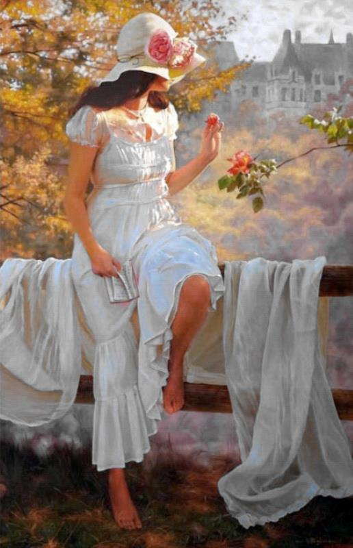 25 Beautiful Oil Paintings by Andrei Belichenko - Woman ...