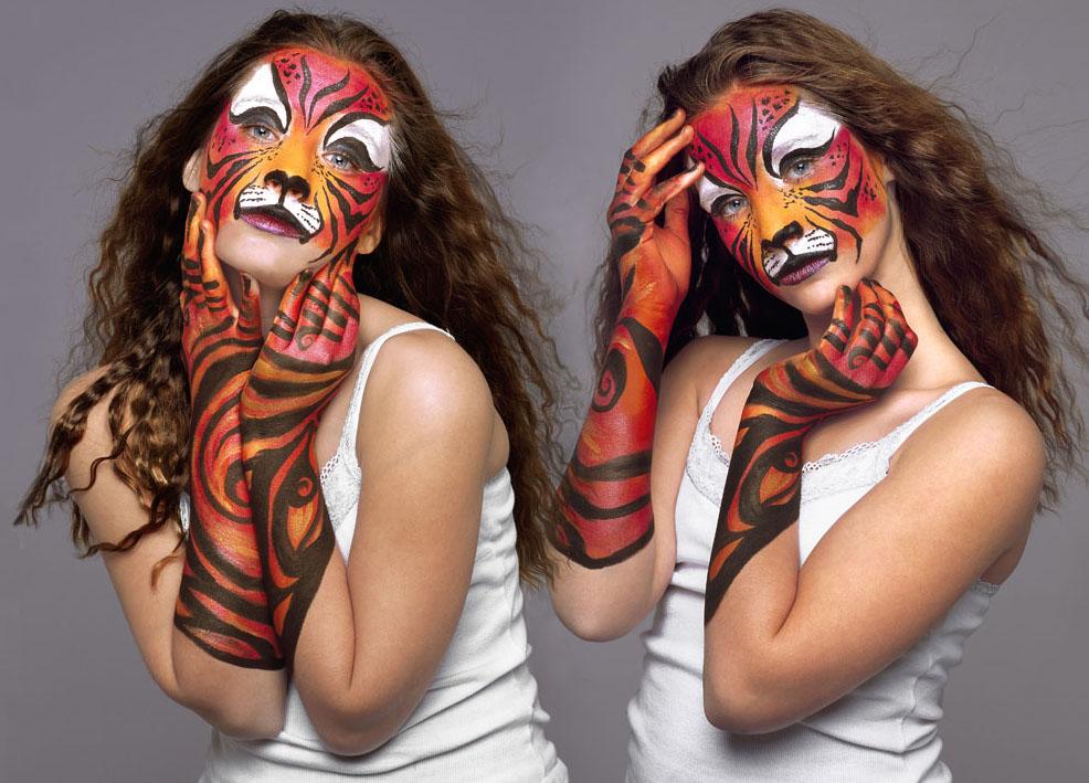 body painting art