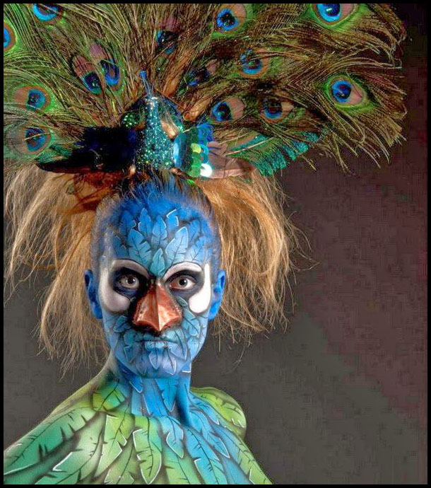 body painting art work world festival creative best beautiful award winning
