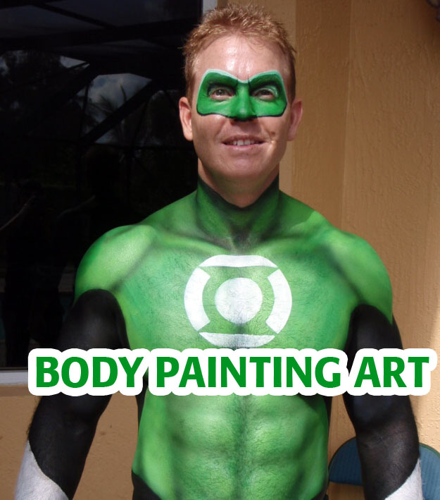 best body painting