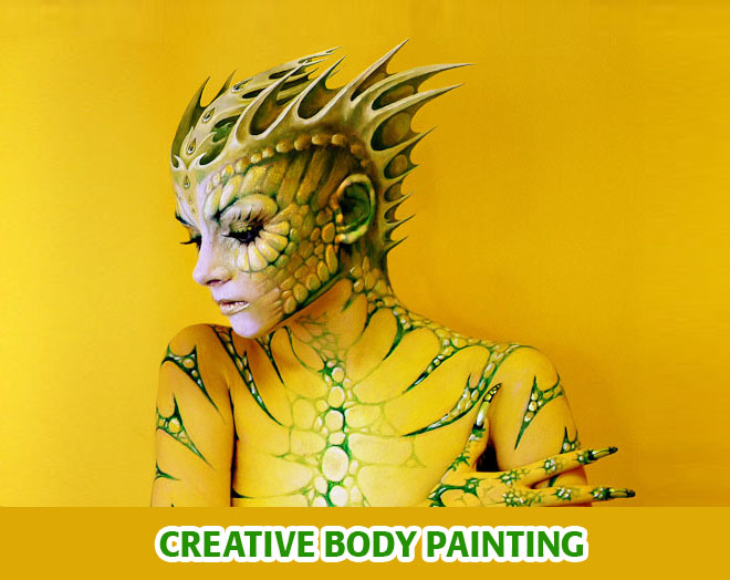 best body painting%20(5) 24 Beautiful Body Painting Pictures from World Body Painting Festival