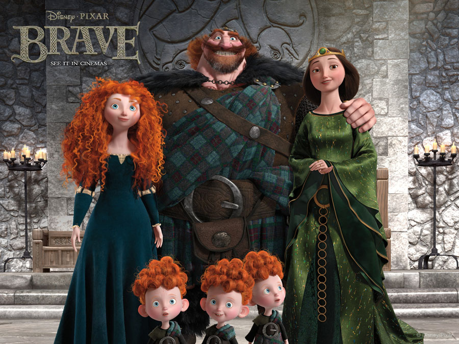 Picture-9 ( 25 Beautiful Character Designs from Oscar Winning Animation Movie Brave )