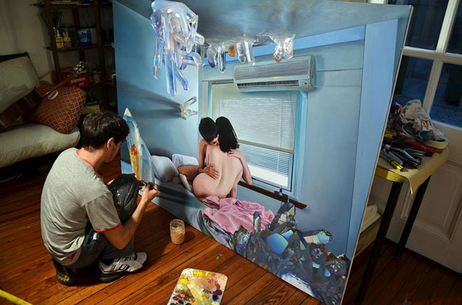 diego-gravinese-painting-hot-cakes-the-darkness-realistic-beautiful-best
