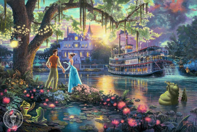 disney paintings thomas kinkade%20(15).preview 15 Mind Blowing Disney Paintings by Thomas Kinkade   The Painter of Light