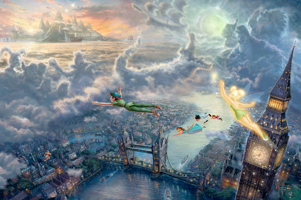 disney-paintings-thomas-kinkade